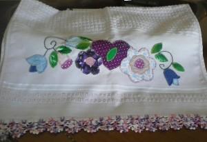 bordado em patchwork