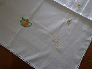 toalha de cha