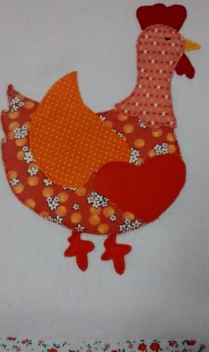galinha laranja
